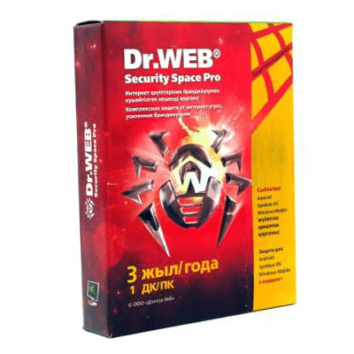 Dr.Web Security Space GOLD на 1ПК/3 года